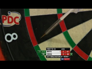 Ian White vs Rob Cross (PDC World Matchplay 2017 / Round 1)