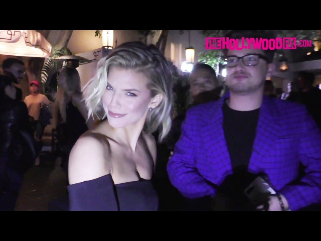 AnnaLynne McCord Jokes Around About Prince Harry Meghan Markle's Wedding At The Chateau Marmont