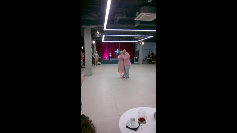 Алена Писарева и Дмитрий Лиферов (Пермь) - Милонга 10.11.2017