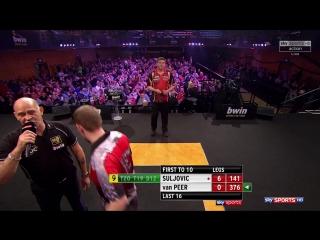 Mensur Suljović vs Berry van Peer (Grand Slam of Darts 2017 / Round 2)