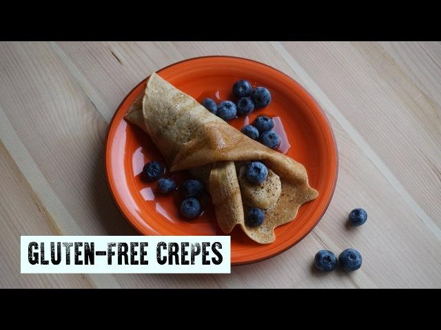 Амарантовые блинчики Gluten free crepes