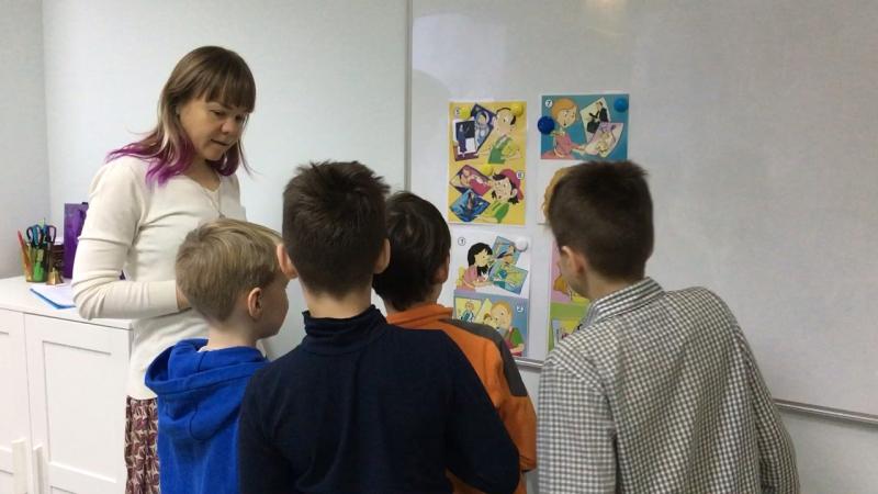Методика I Love English, курс I Can Read, урок 4-3 часть 3 г.Новосибирск, школа LESKids