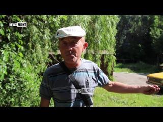 Укропы – вы сволочи! Что же вы делаете, вас сюда не звали – житель Кировска