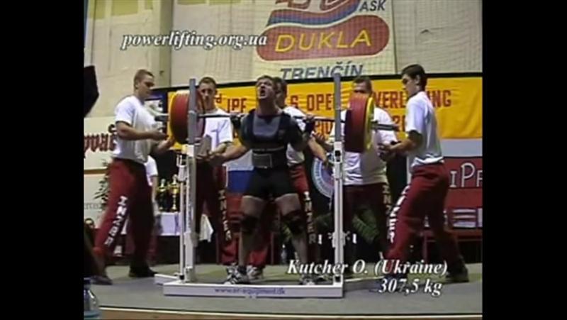 Кутчер Александр до 75 кг приседает 307 5 кг жмет лежа 192 5 кг тянет 315 кг в однослойной экипировке