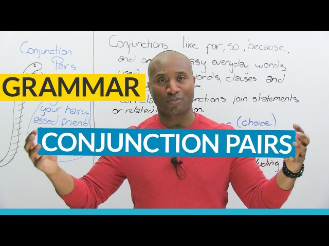 English Grammar Correlative Conjunctions NEITHER NOR EITHER OR BOTH AND