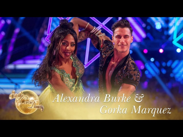 Alexandra and Gorka Samba to Shape Of You by Ed Sheeran Strictly Come Dancing 2017