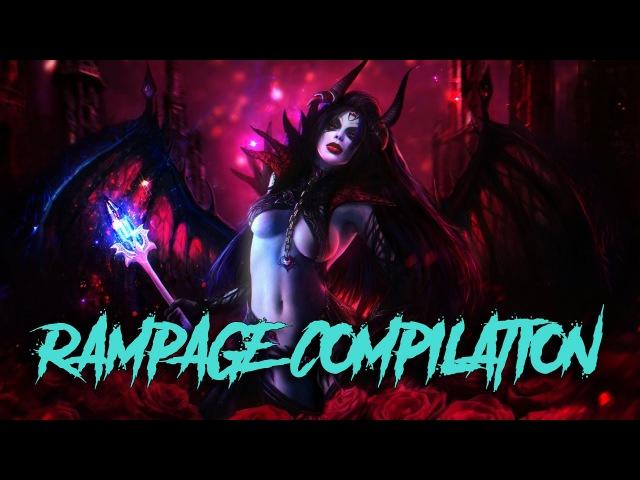 Dota Rampage Rampage compilation vol. 6