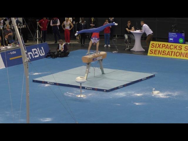 EnBW DTB Pokal 2017 Vlasislav Poliashov Pferd