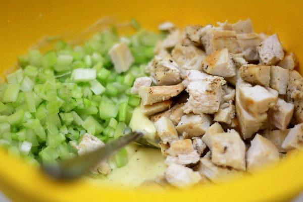 Куриный салат Вальдорф, изображение №6