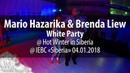 Mario Hazarika Brenda Liew @ White Party @ Hot Winter in Siberia @ IEBC Siberia 04 01 2018