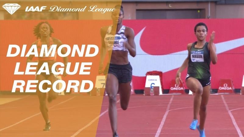 Shaunae Miller Uibo 48.97 Wins Women s 400m IAAF Diamond League Monaco 2018