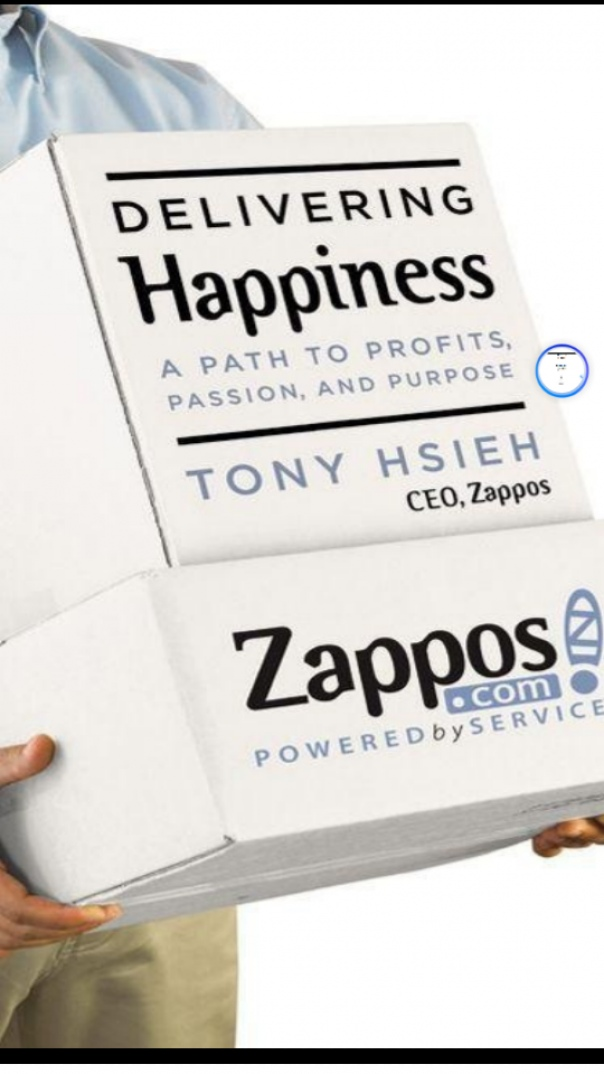 delivering happiness a path to profits
