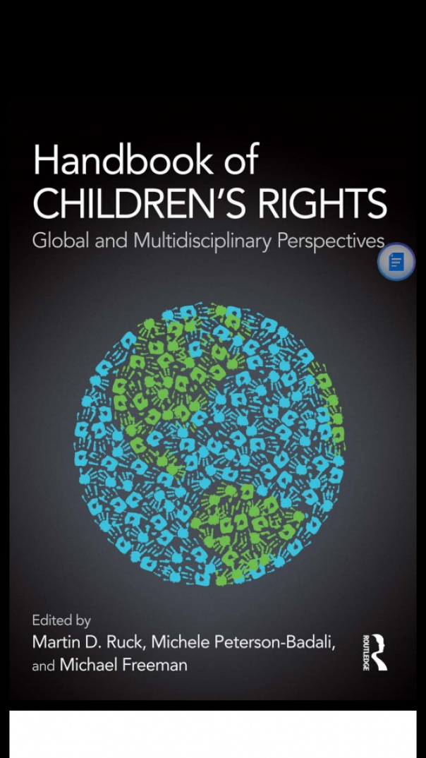 Handbook of Children's Rights  Global and Multidisciplinary Perspectives