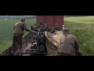 Атака самолётами 332-й истребительной группы немецкого эшелона (Красные хвосты)