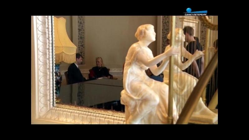 Внучка Феликса Юсупова Ксения Шереметева-Сфири посетила родовой дворец на Мойке