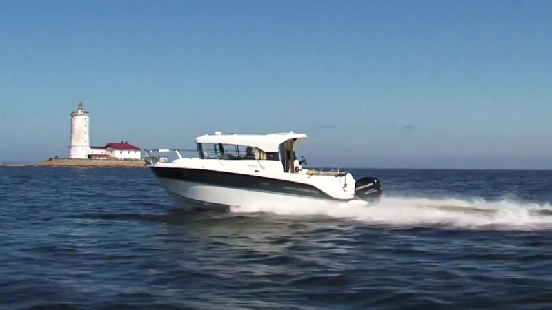 Катера Parker 800 Weekend и Pilothouse