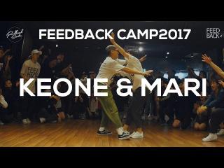 KEONE&MARI 123 Victory | FEEDBACKCAMP 2017 | KEONE&MARI CHOREOGRAPHY | FEEDBACK