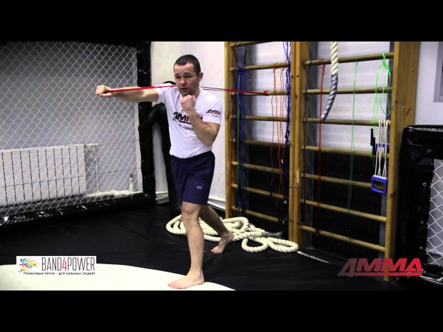 Бокс Упражнения с резиновыми петлями Band4Power от чемпиона мира по боксу Дмитрия Кириллова и 4MMA