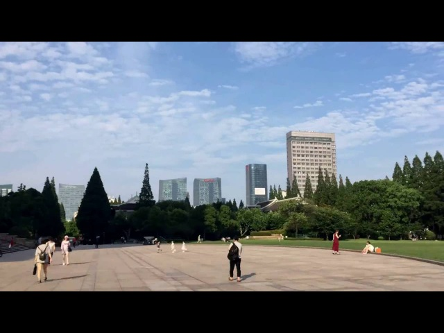 Fudan University Campus Tour time lapse
