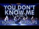 Jax Jones - You Don't Know Me BONUS GROUPS   Radix Dance Fix Ep 7   Brian Friedman Choreography
