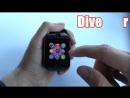 Умные часы SMART WATCH VOGUE Q18 CURVED CU CAMERA SI TELEFON 3G