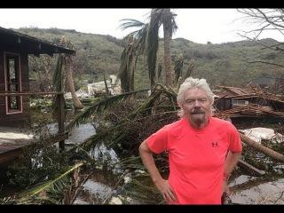 Richard Branson Reveals Images of 'HUGE' Damage on Necker Island in the wake of Hurricane Irma