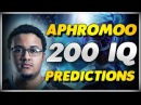 APHROMOO 200 IQ PREDICTIONS - Best Plays Montage