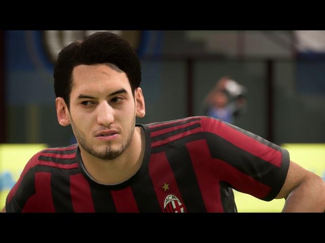 FIFA 18 Ac Milan Inter Player Faces