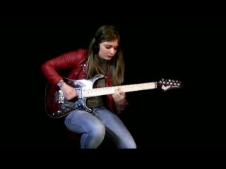 Tina S - Tornado of souls (Megadeth solo cover)