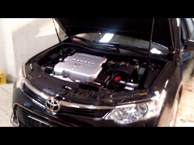 Защита от угона Toyota Camry 2017
