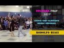 Sigrid and Murat dancing improvisation Biagi in Bologna Italy 2017