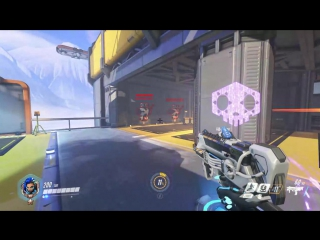 Sombra's hack target changing
