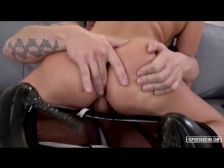 [ / ] lucia denvile hot slovak pornstar lucia denville gets facial in steamy casting sex (