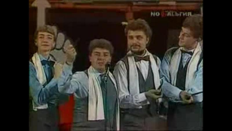 Сезон 1986-1987, третья 14 финала ОГУ - МХТИ – смотреть видео