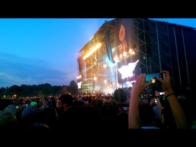 Placebo live al Firenze Rocks Ippodromo Del Visarno Firenze Song To Say Goodbye