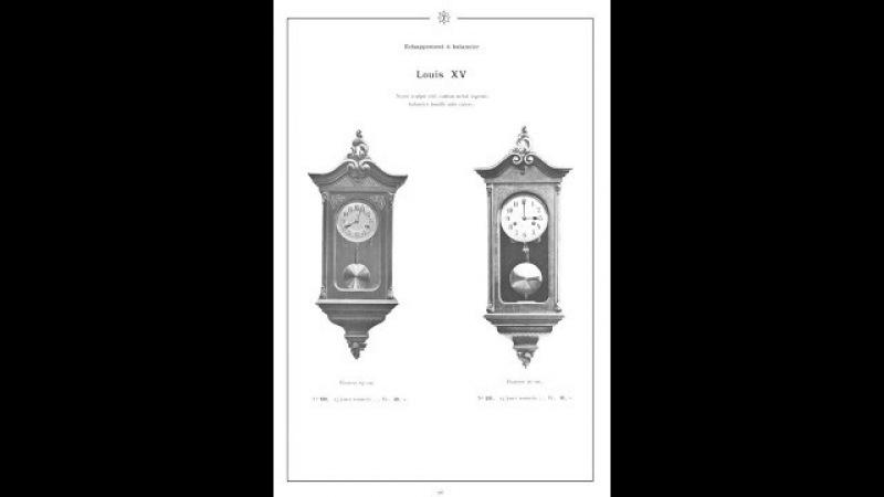 Junghans Louis ХV 1910 миниатюра 65 25 17 см