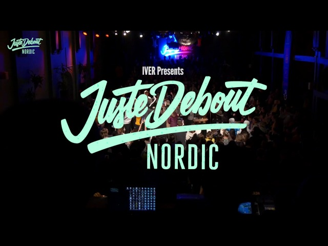 Juste Debout Nordic 2018 - Popping Final - Sheva Kaczorex VS Vanilla Stew