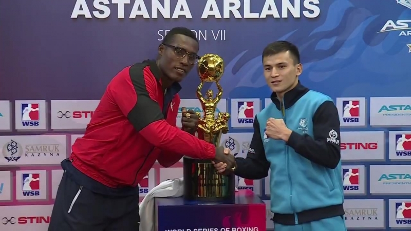 Astana Arlans - Cuba Domadores баспасөз мәслихаты