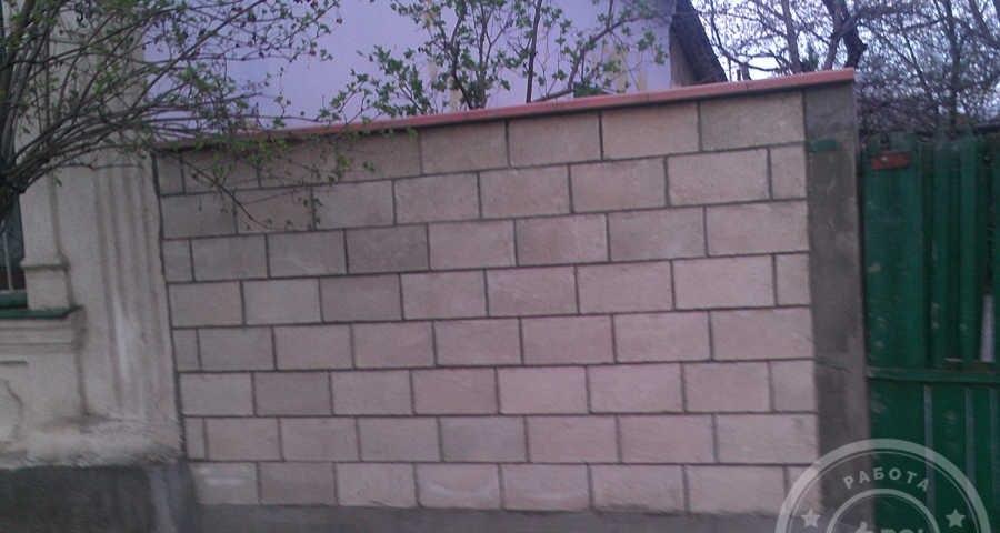 Забор из котельца фото