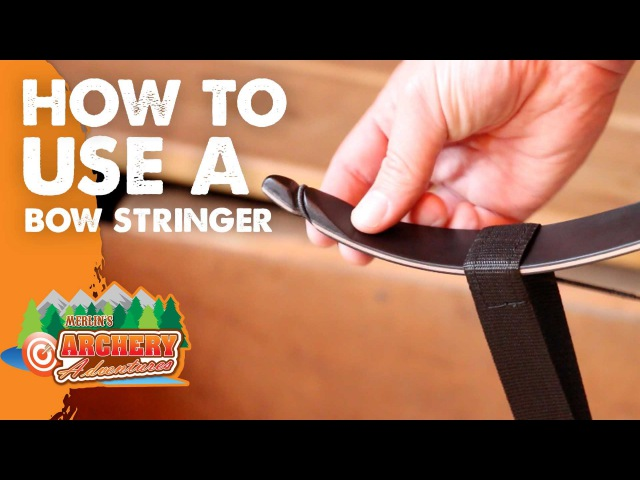 How to use a bow stringer Archery