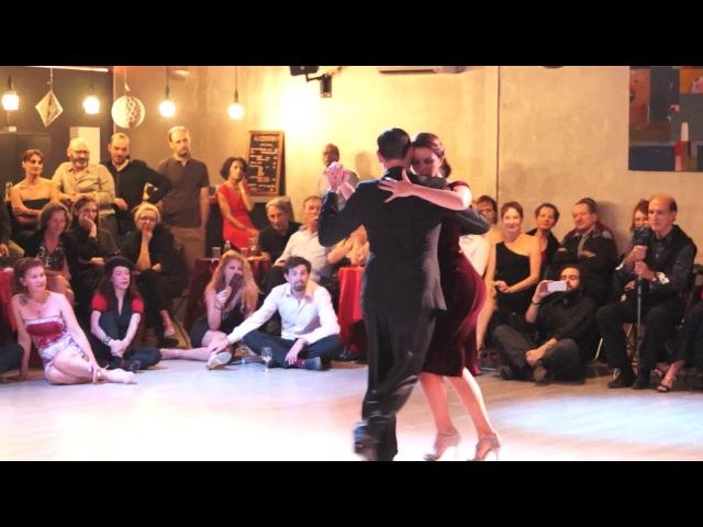 ★ Fausto Carpino Stéphanie Fesneau MILONGA 4/4 De antaño LES INTANGUPTIBLES 3 Montpellier ★