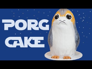 How to make a PORG Cake from STAR WARS: The Last Jedi