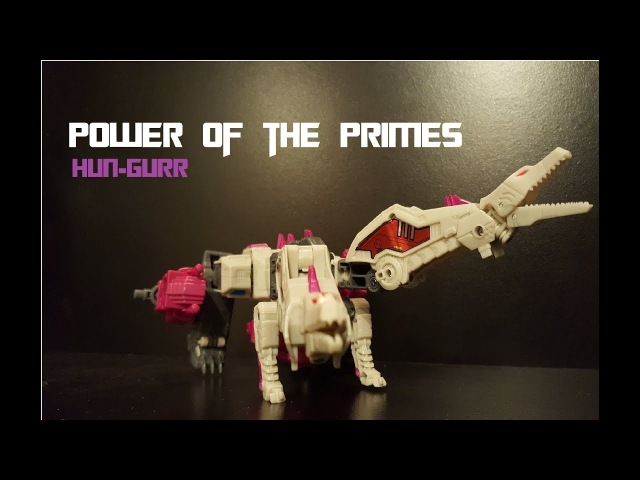 Transformers- Power of the Primes Voyager Class Terrorcon Hun-Gurr review