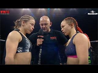 SVETLANA GOTSYK - SIMONA SOUKUPOVA: Title Fight WWFC 9