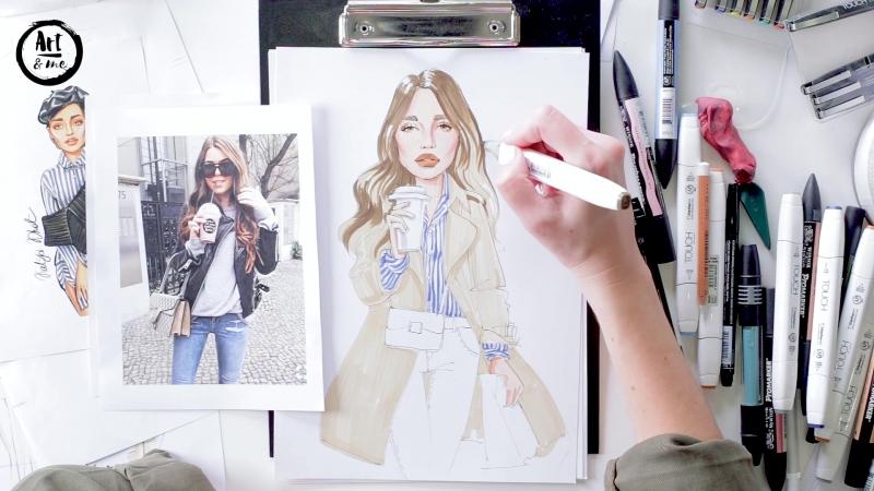 Онлайн мини-курс - Фэшн портрет с Katya Khot