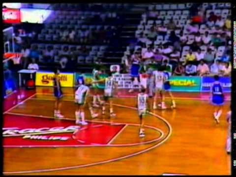 Copa Intercontinental Cibona Zagreb vs Zalgiris Kaunas SF septiembre 1987