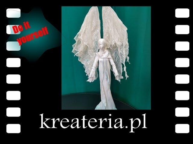 Jak zrobić anioła Powertex tutorial - KreaCraftShow45