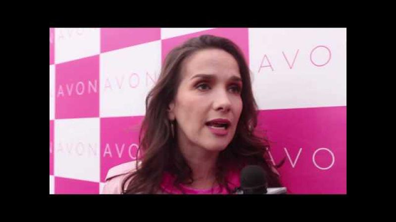 Natalia Oreiro Corrida Solidaria Avon Contra el Cáncer de Mamas