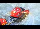 Веселые паровозики из Чаггингтона - Новые зимние серии! Шеф смотрителей Блистающий Флетч - Мультик