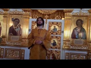 Атриум_Александр Антонюк_проповедь о миссии у мощей свт.Николая в Петербурге